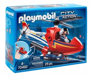 Playmobil City Action Helikopter Strażacki 70492